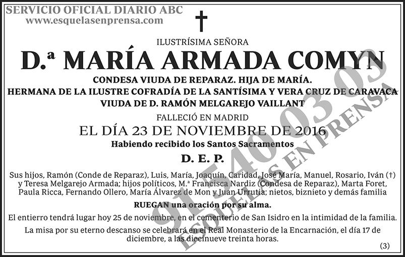María Armada Comyn